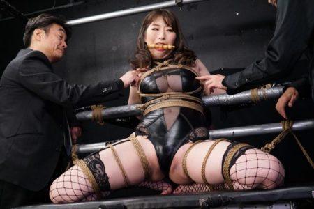宝田もなみ 女スパイが敵に捕まり緊縛拘束されて電マ責めされる 画像