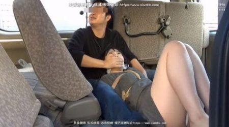 強盗に襲われた女子大生が緊縛され車で拉致られるwww 画像