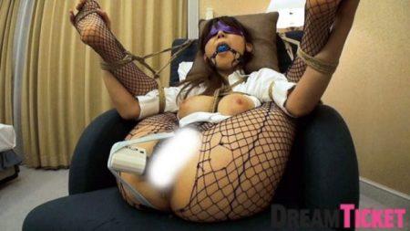 知花メイサ 監禁された女医が椅子にマングリ拘束されて電マでマンコを甚振られる動画 画像
