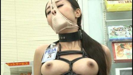 女潜入捜査官が拘束されて鼻フックでブサイク顔を晒しながら浣腸責めされる動画 画像