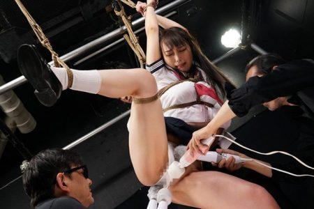 桐谷なお 緊縛された女子校生が執拗な電マ責めにアヘっちゃう動画 画像
