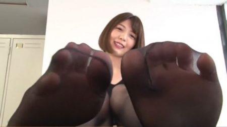 竹内麻耶 ドSなお姉さんがM男に蒸れたストッキング足を舐めさせて調教しちゃう動画 画像