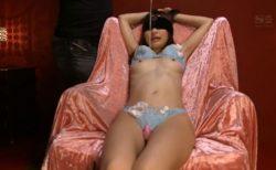 天使もえ 目隠し拘束された美少女がマンコをローターで執拗に責められる動画 画像