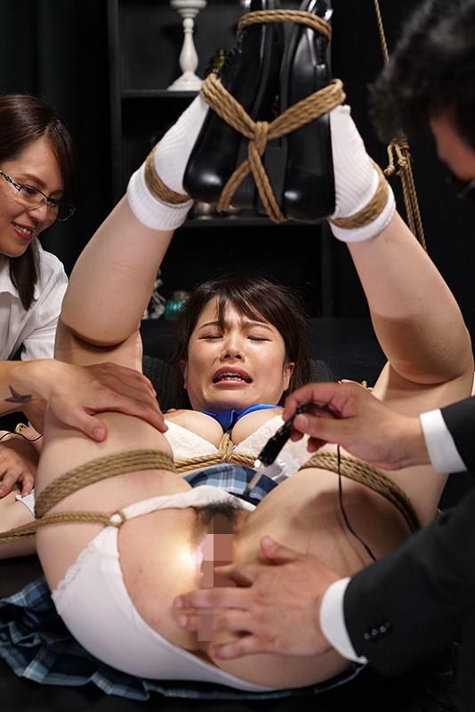 佐知子 緊縛されたお嬢様女子校生がマンコを甚振られて犯される動画