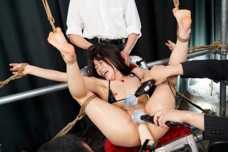 宮沢ちはる 捕らえられた女スパイが監禁緊縛されてマンコを犯される動画 画像