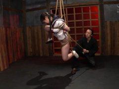 制服少女 串刺し拷問 河奈亜依(4)