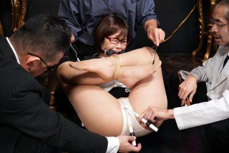 赤瀬尚子 ヤクザに監禁拘束された女教師が緊縛輪姦レイプされる動画 画像